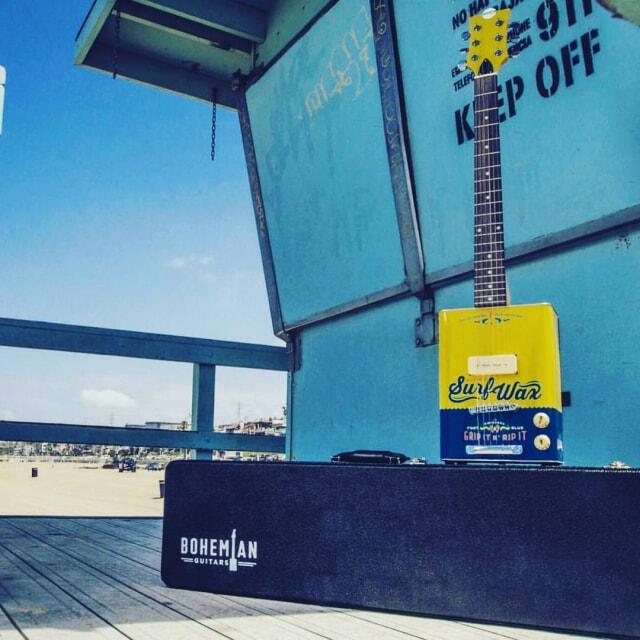 Bohemian guitars - Honey plage