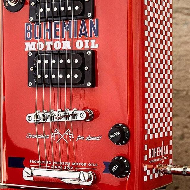 Bohemian guitars - Motor oil Zoom