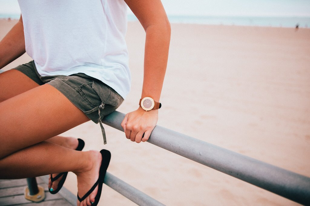 Analog watch - Teck & bambou - Plage