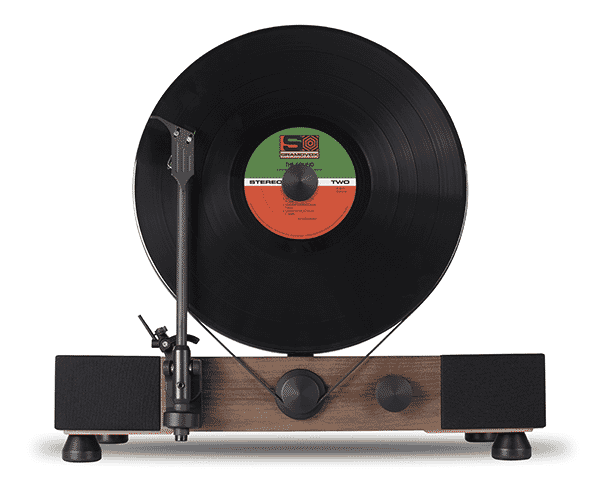 Gramovox Floating record - Noyer