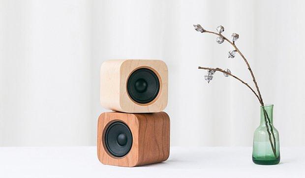 Sugr cube - Modèles cerisier & érable - Vase