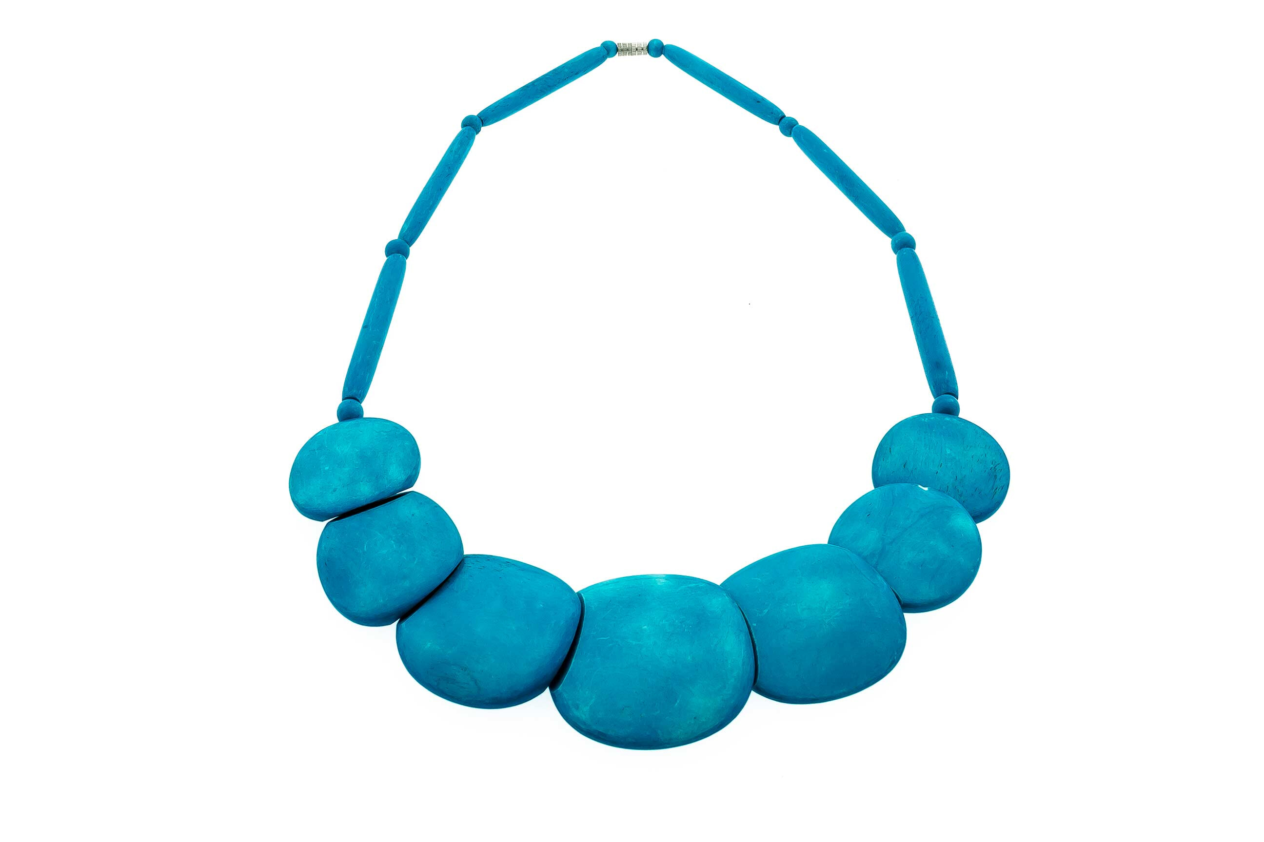 Collier - Pierres bleues